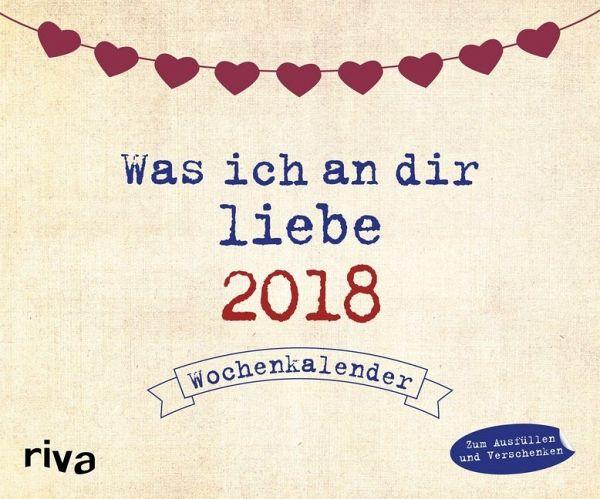 Was ich an dir liebe 2018