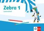 Zebra Plus. Lesemalheft 1. Schuljahr