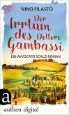 Der Irrtum des Dottore Gambassi (eBook, ePUB)