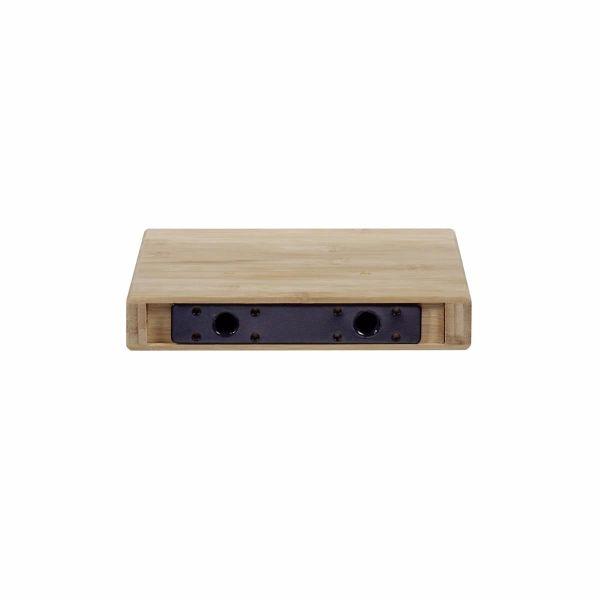 miavilla wandregal bamboo braun klein. Black Bedroom Furniture Sets. Home Design Ideas