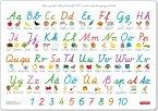 Fragenbär-Mini-Lernposter: Mein Schreibschrift-ABC in der Schulausgangsschrift / Vereinfachten Ausgangsschrift