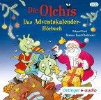 Die Olchis. Adventskalenderhörbuch, 2 Audio-CDs (Mängelexemplar)