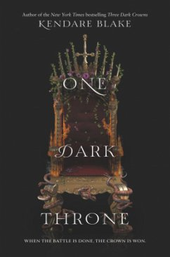One Dark Throne - Blake, Kendare