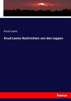 9783743655591 - Leem, Knud: Knud Leems Nachrichten von den Lappen - Buch