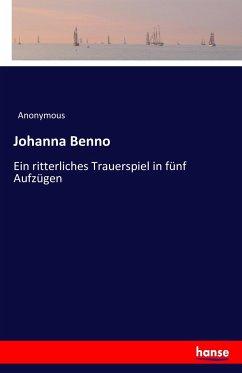 9783743655539 - Anonymous: Johanna Benno - Buch
