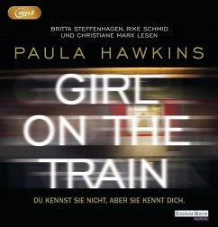 Girl on the Train - Du kennst sie nicht, aber sie kennt dich., 1 MP3-CD - Hawkins, Paula