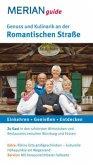 Merian guide Genuss und Kulinarik an der Romantischen Straße (Mängelexemplar)