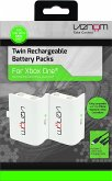 Venom Xbox One Twin Rechargeable Batterypack White