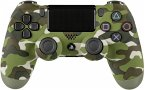 DualShock 4 - Wireless Controller - Green Camouflage (Vers. 2016)