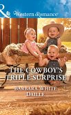 The Cowboy's Triple Surprise (Mills & Boon Western Romance) (The Hitching Post Hotel, Book 5) (eBook, ePUB)