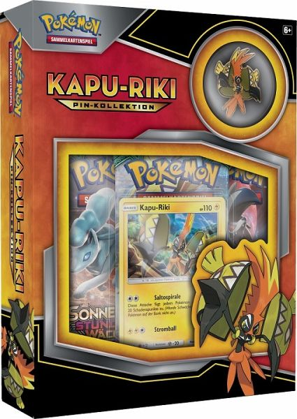 Pokemon (Sammelkartenspiel), KapuRiki Pin Box
