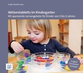 Aktionstabletts im Kindergarten