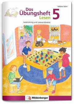 Das Übungsheft Lesen Bd.5 - Stehr, Sabine