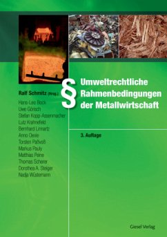 Umweltrechtliche Rahmenbedingungen der Metallwi...