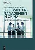 Lieferantenmanagement in China (eBook, ePUB)