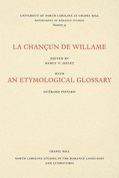 9780807890356 - Iseley, Nancy V.: FRE-CHANCUN DE WILLAME - Livre