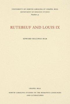 9780807890424 - Ham, Edward Billings: FRE-RUTEBEUF & LOUIS IX - Livre