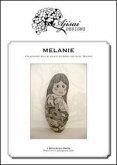 Melanie. A blackwork doll design