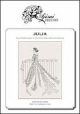Julia. A blackwork design