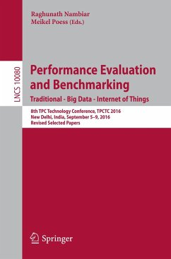 Performance Evaluation and Benchmarking. Tradit...