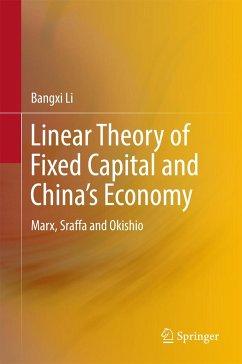 9789811040641 - Li, Bangxi: Linear Theory of Fixed Capital and China´s Economy - Book