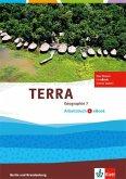 TERRA Geographie für Berlin und Brandenburg - Ausgabe für Gymnasien, Integrierte Sekundarschulen und Oberschulen / Arbeitsheft mit e-book 7. Schuljahr