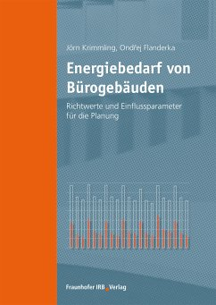 Energiebedarf von Bürogebäuden. (eBook, PDF) - Krimmling, Jörn; Flanderka, Ondrej
