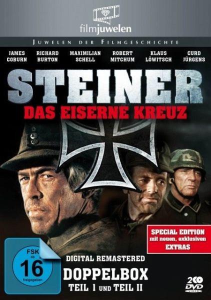 Steiner Das Eiserne Kreuz Teil 1 2 Anniversary Edition Auf Dvd Portofrei Bei Bucher De