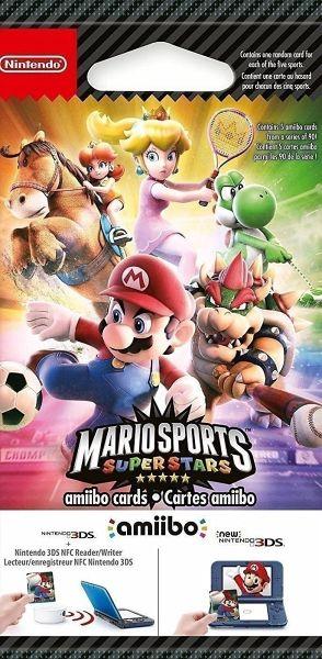amiibo-Karten Mario Sports Superstars 5Stk.