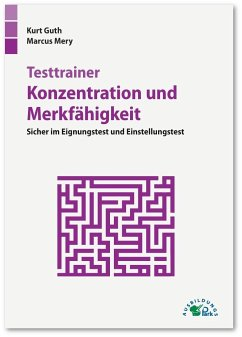Testtrainer Konzentration und Merkfähigkeit