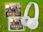 Bibi & Tina - Tohuwabohu Total Audio-Set (Stereo-Kopfhörer inkl. Soundtrack & Hörspiel) Weiß