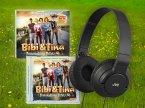 Bibi & Tina - Tohuwabohu Total Audio-Set (Stereo-Kopfhörer inkl. Soundtrack & Hörspiel) Schwarz