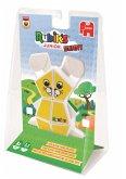 Jumbo 12164 - Rubik's Junior Bunny, Kinder-Zauberwürfel, Zauber-Hase, Denkspiel