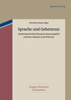 Sprache und Geheimnis (eBook, PDF)