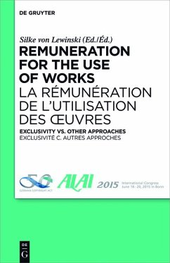 Remuneration for the Use of Works (eBook, PDF)