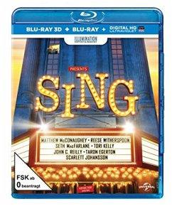 Vorschaubild von Sing (Blu-ray 3D + Blu-ray)