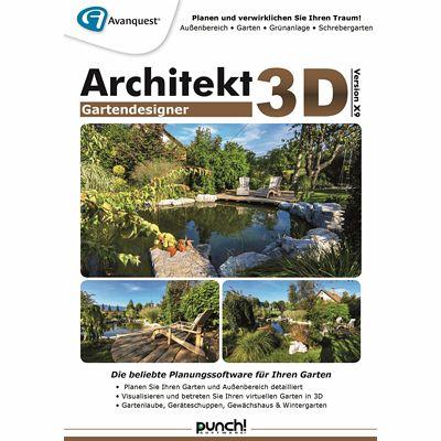 Architekt 3d x9 gartendesigner download f r windows for Architekt gartendesigner 3d