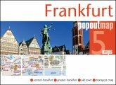 Frankfurt Popout Map, 2 maps