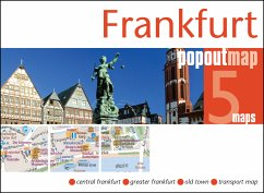 Frankfurt Popout Map, 2 maps