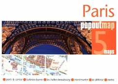 Paris Popout Map, 2 maps