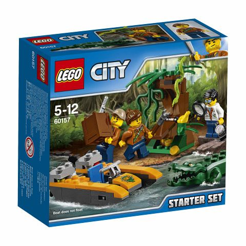 LEGO® City 60157 Dschungel-Starter-Set