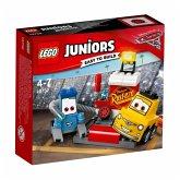 LEGO® Juniors Cars 10732 Guido und Luigis Pit Stopp