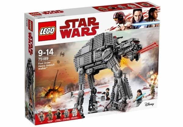 LEGO® Star Wars 75189 First Order Heavy Assault Walker