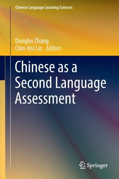 9789811040870 - Herausgeber: Zhang, Dongbo; Lin, Chin-Hsi: Chinese as a Second Language Assessment - Book