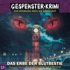 Gespenster-Krimi - Das Erbe der Blutbestie, 1 Audio-CD - Dusckek. Markus
