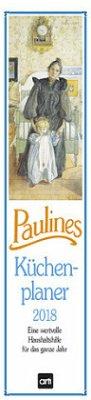 Paulines Küchenplaner 2018 Streifenkalender