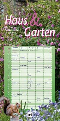 Haus und Garten Familienkalender 2018