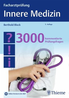 Facharztprüfung Innere Medizin (eBook, PDF) - Block, Berthold