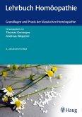 Lehrbuch Homöopathie (eBook, ePUB)