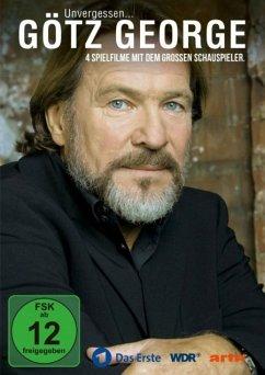 Götz George: Unvergessen... 4 Spielfilme mit dem großen Schauspieler DVD-Box